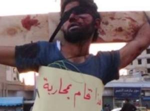 Crucifying syria