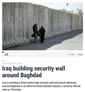Security Wall Bagdad