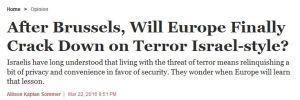 crackdown ISrael style HAARETZ