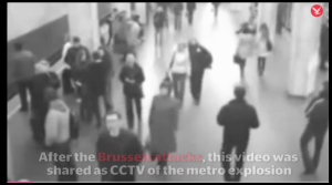Minsk airport blast sold as Brussels metro attack by Be media