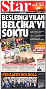 turkish STAR Terror in Belgium