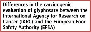 EFSA IARC controversy