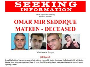 FBI poster information request Mateen