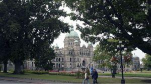 Victoria legislature bldg