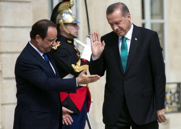 Hollande Erdogan