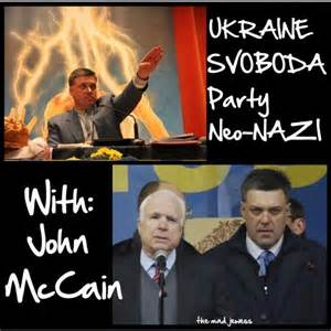 McCain with NeoNazis Kiew