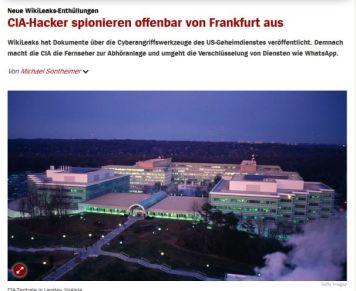 SPON Frankurt CIAHacker Zentrale