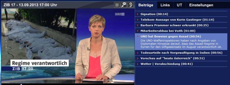 ORF Regime verantwortlich