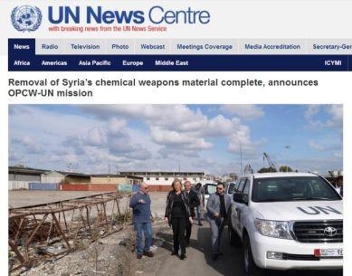 UN OPCW Syria