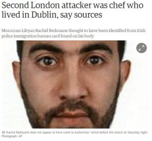 1 Guardian Dublin chef alleged terrorist