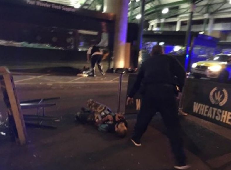 1 terror suspect London Bridge