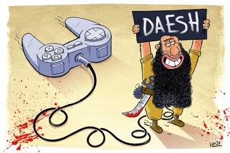 Aufzieh-Terroristen
