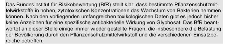 BfR GLY Bakterien 1
