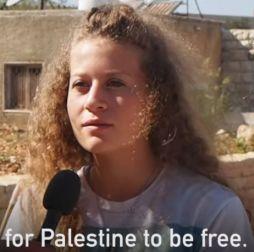 Ahed Free Palestine