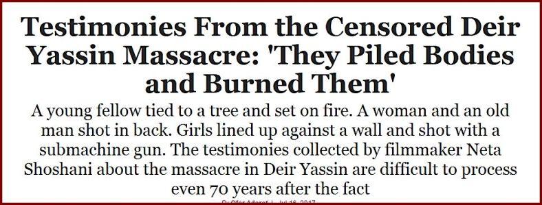 Haaretz burned bodies DrYassin