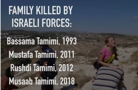 Tamimi death toll