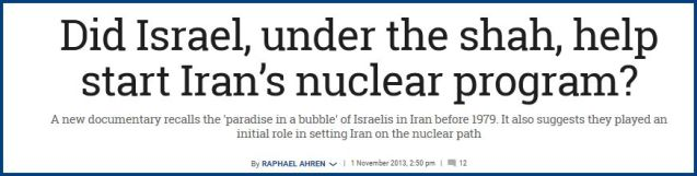 Iran Nuclear Program TOI