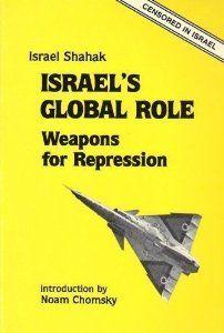 Shahak Israel repression