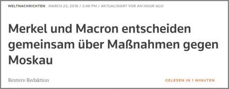 Reuters Merkel Macron Mn gegen RU