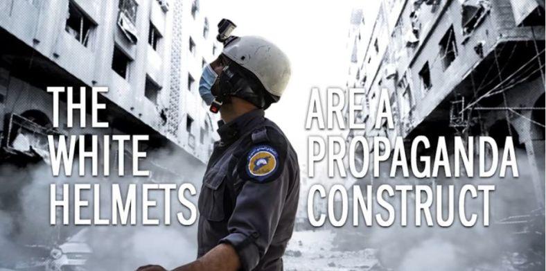 Corbett White Helmets FAKE