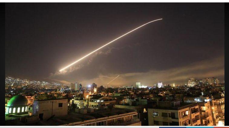 Trio Infernal attacks Damascus