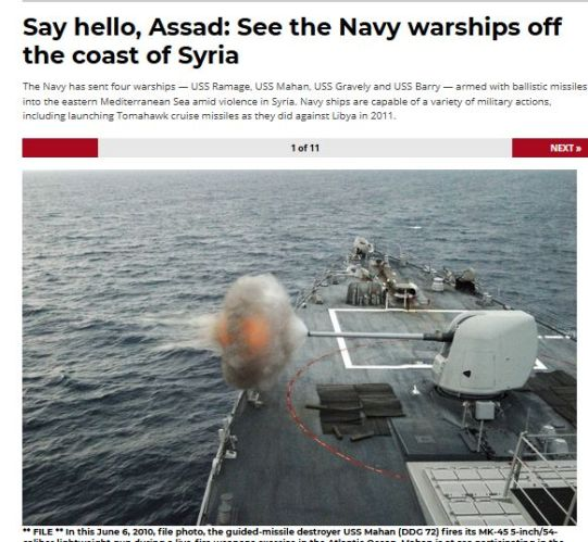 US Navy Syria