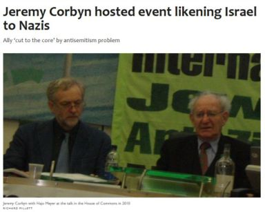 Corbyn Holocaust Abuse