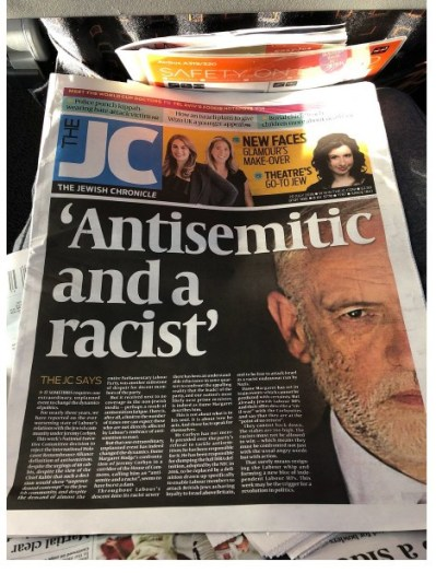 JC- racist AS corbyn