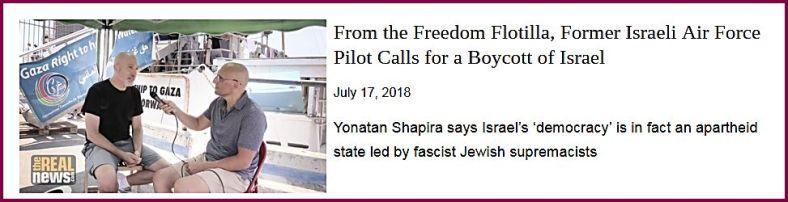 Shapira Freedom Flotilla TRN