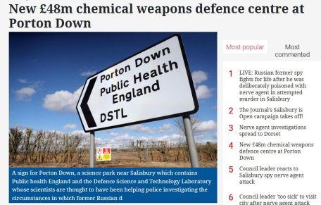 Porton Down gets millions