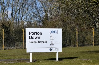 The Porton Down facility is seen, in Wiltshire