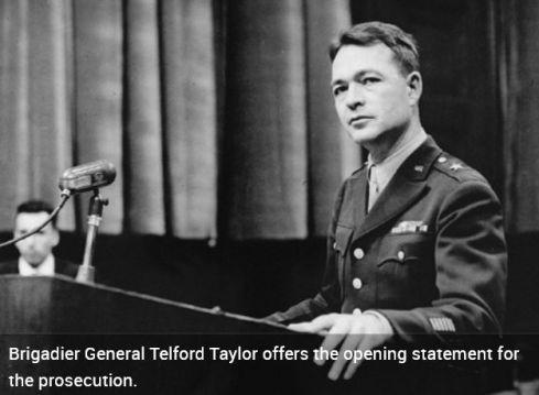Telford Taylor Nuremberg doctor trial