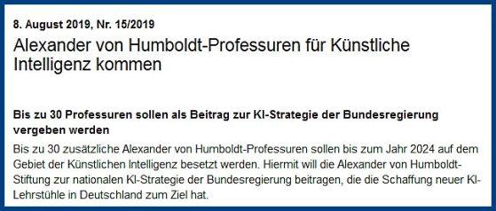 AI Professur Humboldt