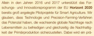 Horizon 2020 digital agri EU