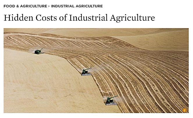 Industrial Farming Costs