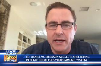 Dr Erickson lockdown weakens IS