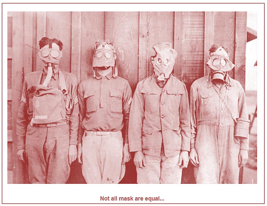 Masks not equal