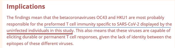 T-Cell Immunity SARS-CoV-2 Stervbo et al