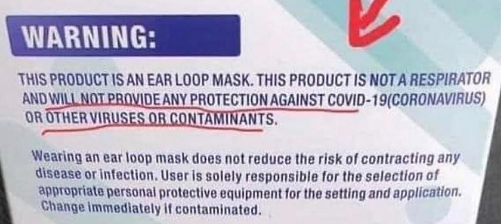 Warning Masks UK